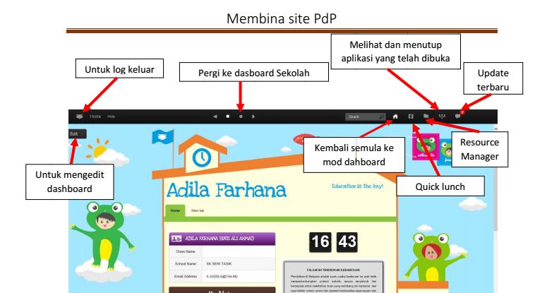Membuat Site PdP dalam VLE Frog - UNIT TMK SK SERI TASIK