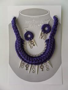 kK ogrlica & naušnice MIX :)