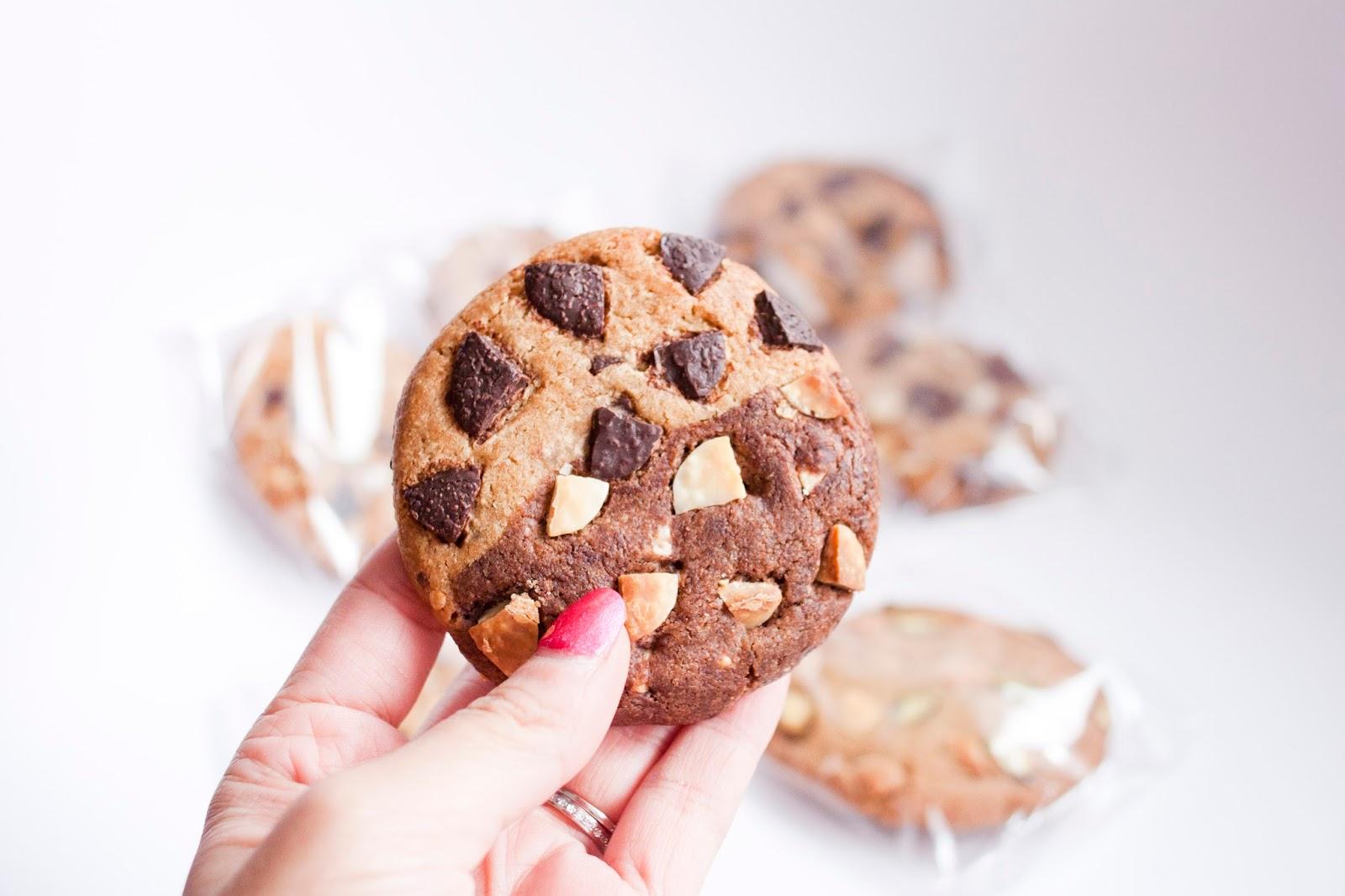 delicious cookies chocolat