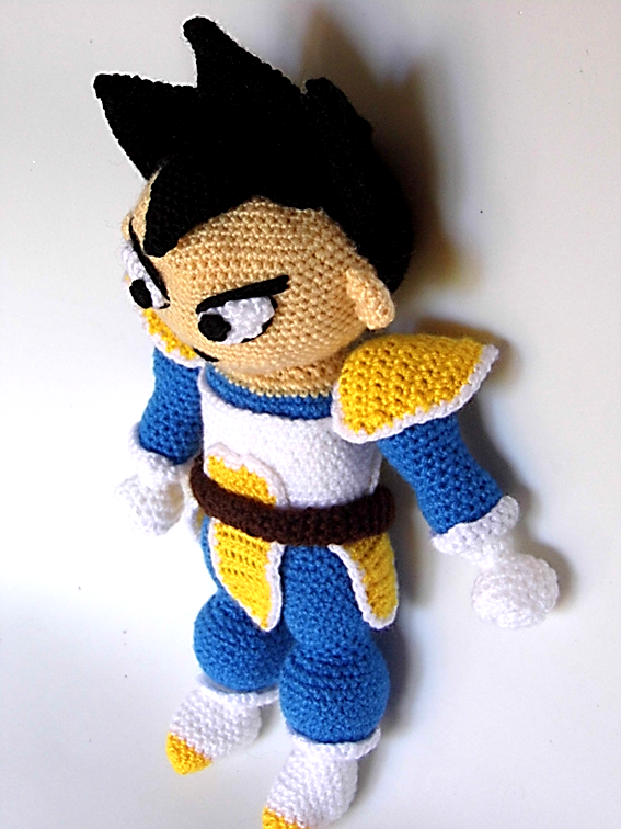 Dragon Azul Amigurumi : Patrones Amigurumi: Vegeta (Dragon Ball)