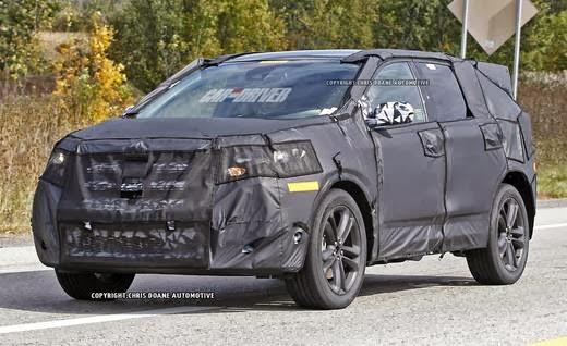 2015 Ford Edge Spotted