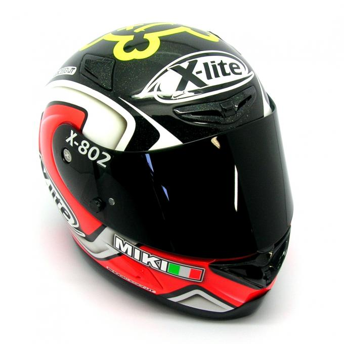 racing helmets garage x lite x 802r m magnoni 2013 by. Black Bedroom Furniture Sets. Home Design Ideas