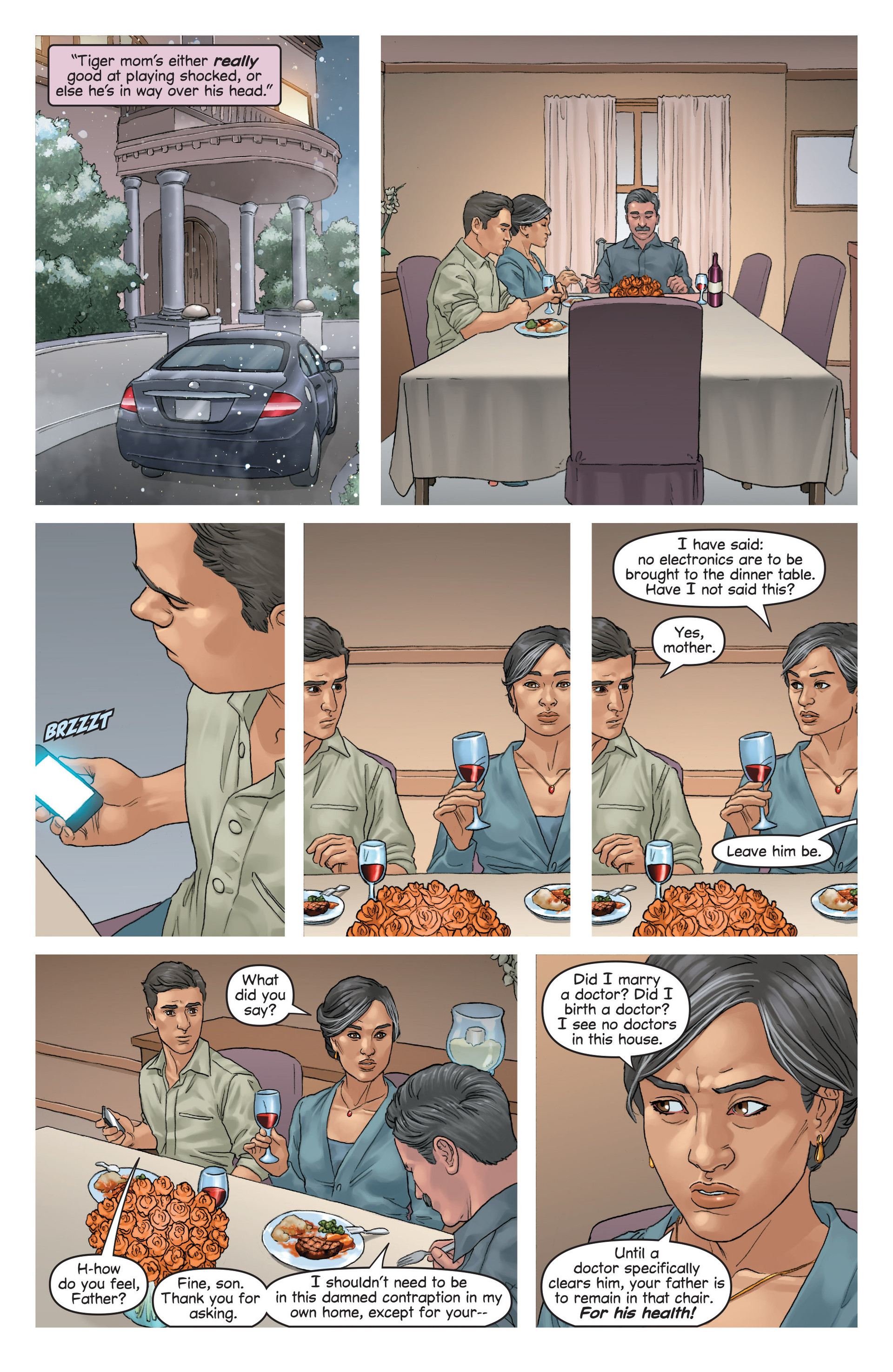 Read online Mind The Gap comic -  Issue #16 - 18