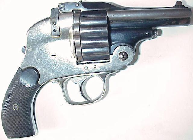 Three-Barreled Revolver