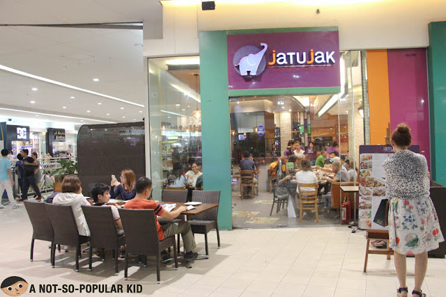 Jatujak Thai Restaurant in Mall of Asia