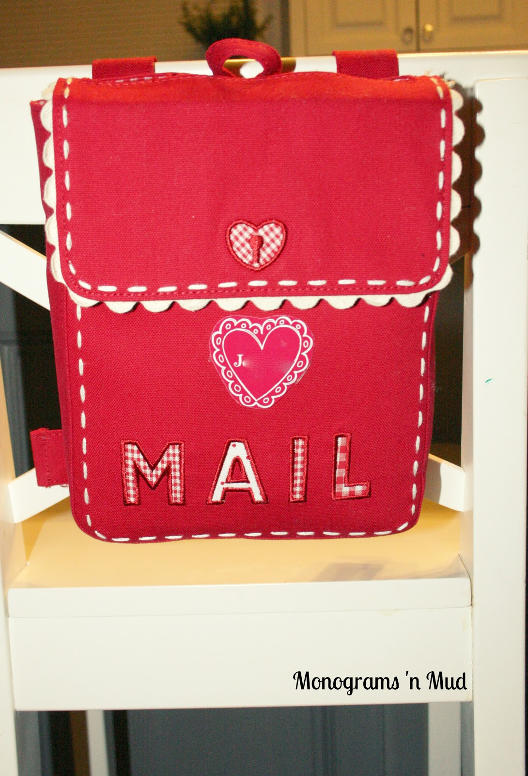 DIY Valentine Mailbox Personalization