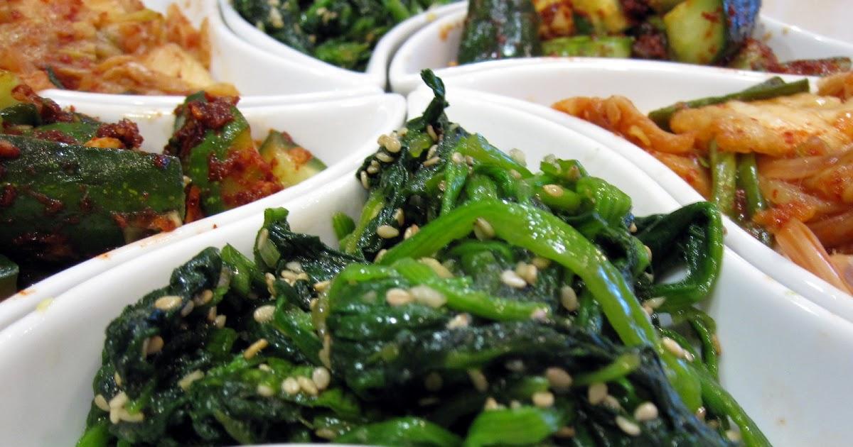 food ala chef: Korean Seasoned Spinach (Sigeumchi Namul)