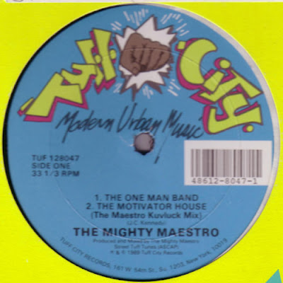 Mighty Maestro – The One Man Band (1989, VLS, 256)