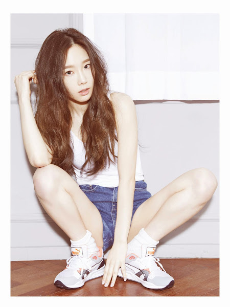 Girls' Generation Taeyeon in High Cut Match 2015