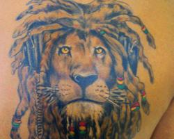 Fotos de Tatuagens do Reggae