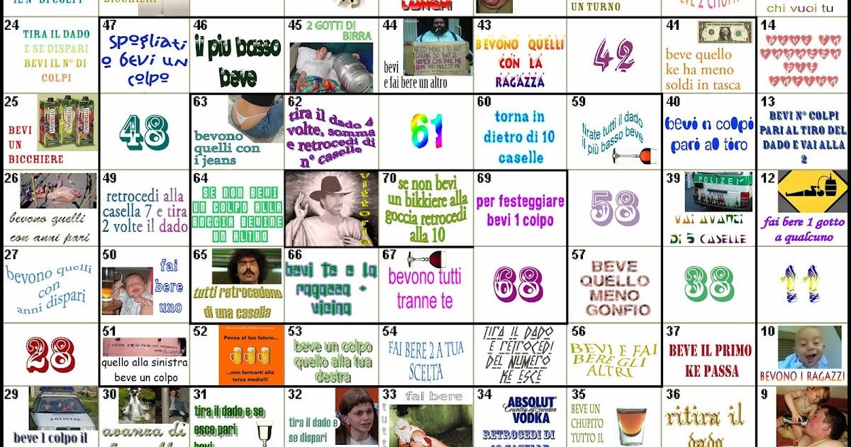 Ksparkling aspettando il 2014 un gioco dell 39 oca for Gioco dell oca alcolico da stampare