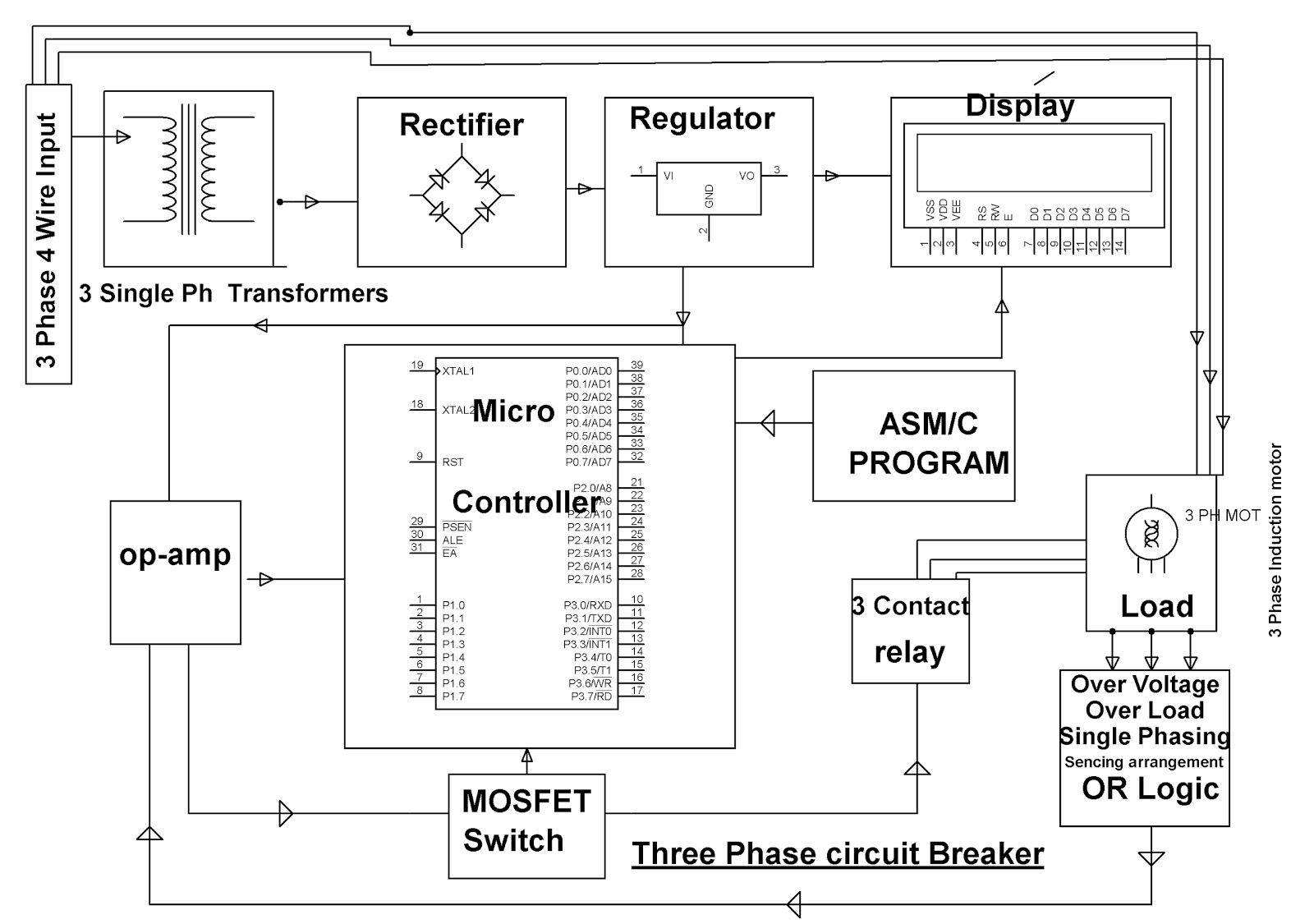 Wiring Diagram Of Star Delta Starter With Timer Library Wye Manual Three Phase Using Relays And Adjustable Automatic