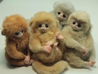 мастер-класс обезьянка