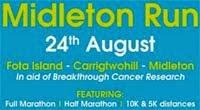 Midleton Charity Run...Marathon, half, 10k, 5k