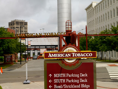 View of the old American Tobacco property