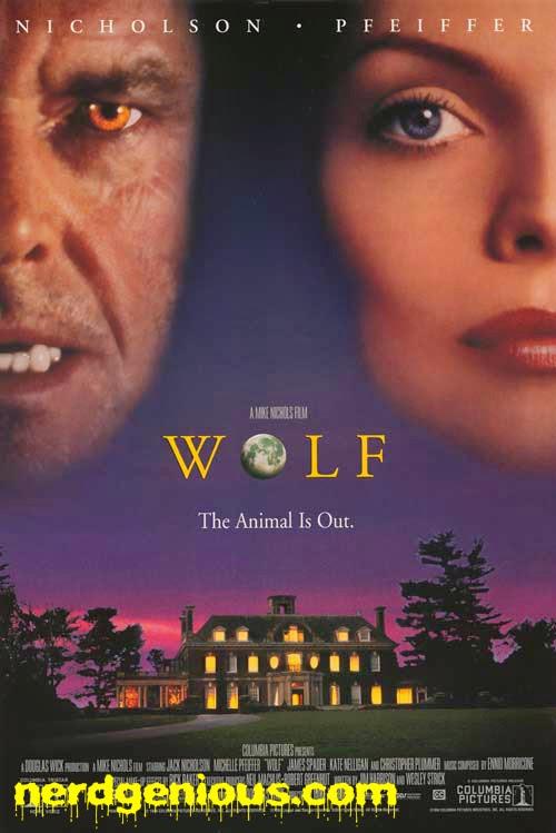Jack Nicholson Michelle Pfeiffer Wolf movie poster