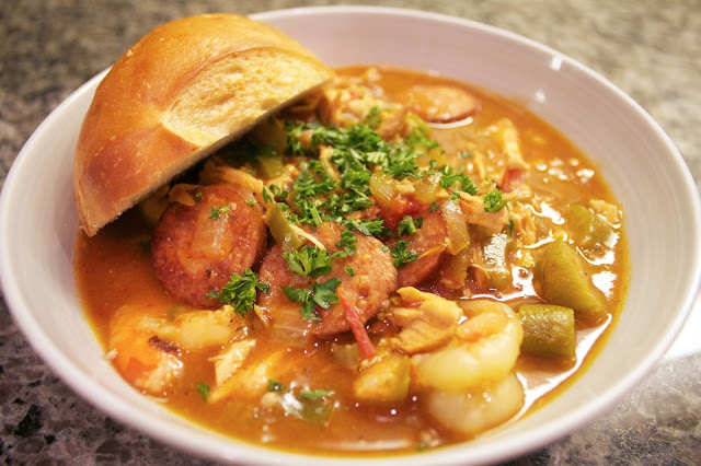 Souper Sunday: Chicken Andouille Gumbo