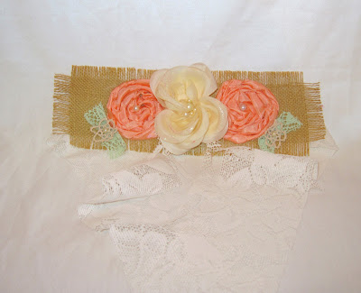 Rosette Embellished Sash Belt for Wedding Party Prom, Bridal Belt Sash