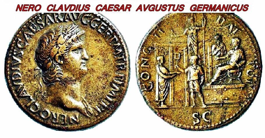 NERO CLAVDIUS CAESAR AVGUSTUS