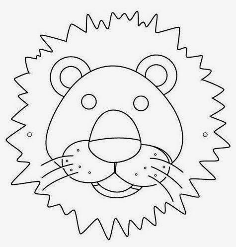 mascara león leão
