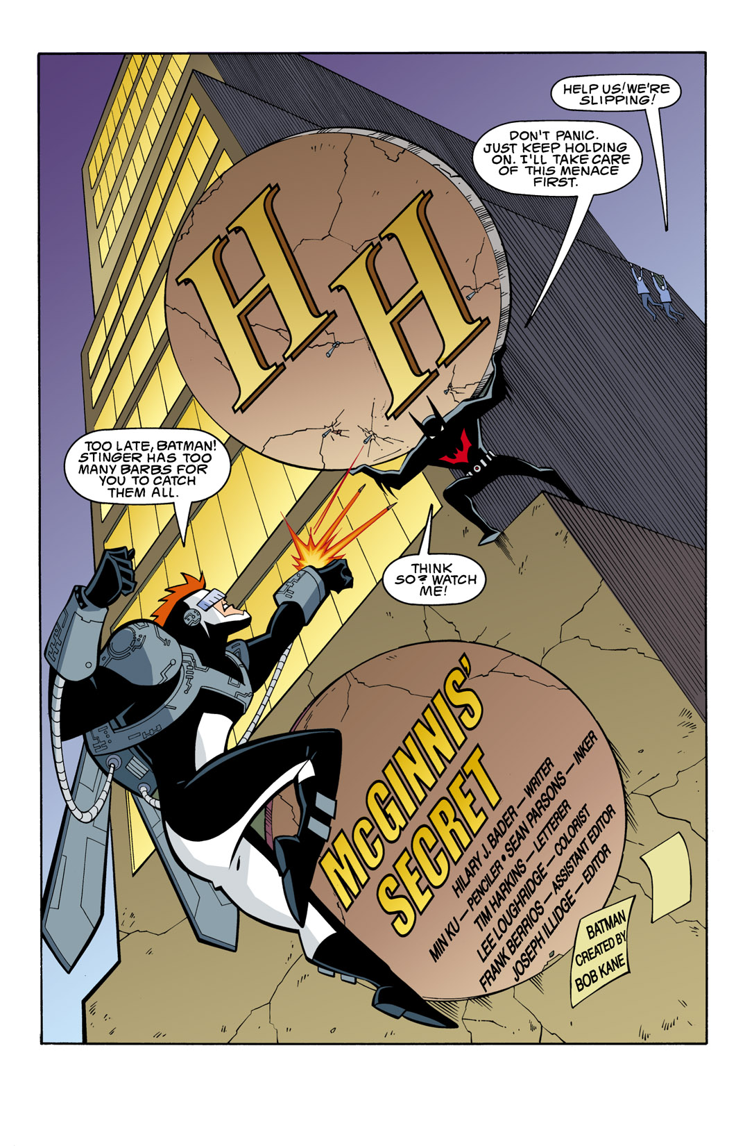 Batman Beyond [II] Issue #7 #7 - English 2
