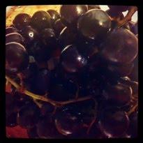 California Black Grapes
