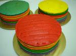 Kek fofular ~ rainbow CAKE