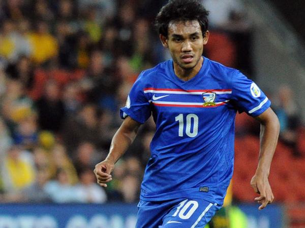 top scorer aff 2012, teerasil dangda, thailand striker