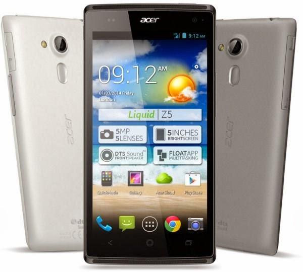 Acer Liquid Z5 Android Jelly Bean Harga Rp 1 Jutaan