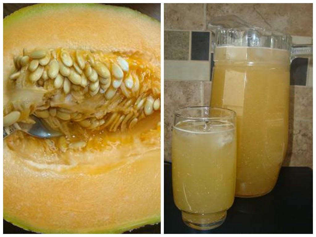 Agua de Horchata de melón