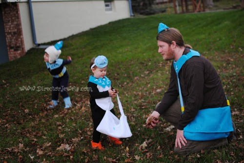 Octonauts Halloween - DIY Costumes - Captain Barnacles, Peso Penguin, Shellington, Dashi - Unique Family Costume Idea