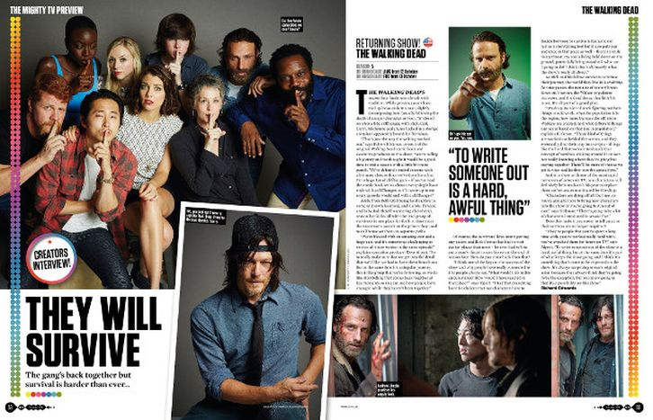 The Walking Dead - Episode 5.02 - Snippet from SFX Magazine