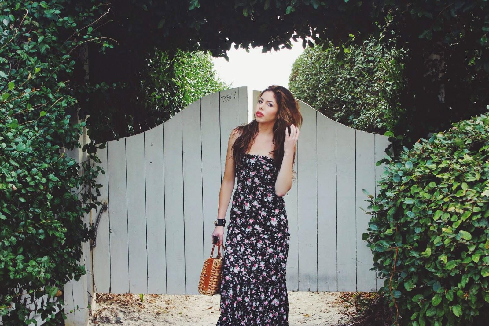 boys and bombshells winter garden the prettiest floral dresses