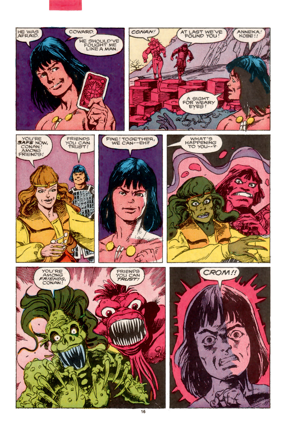 Conan the Barbarian (1970) Issue #202 #214 - English 17