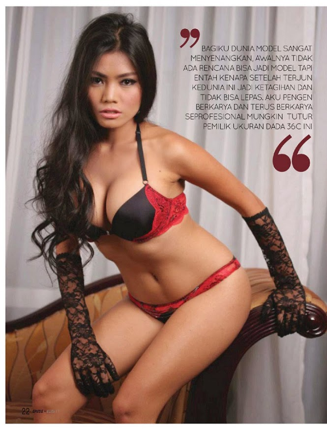 Hot Model Aurora Lessa Di Gress Magazine