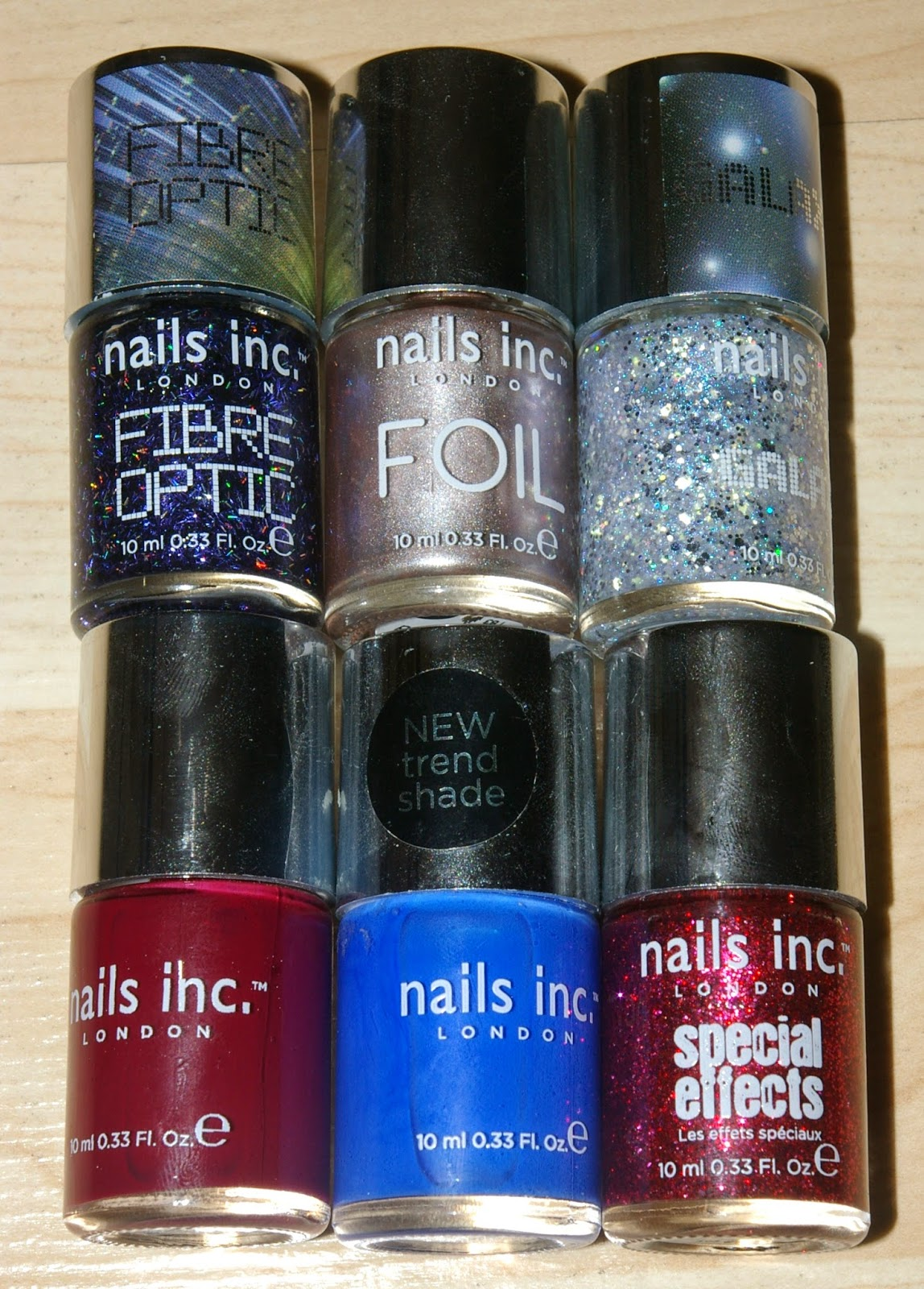 Nails Inc Polishes in