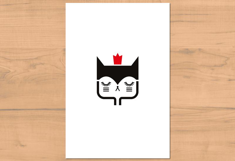 http://www.lesfollesmarquises.com/product/carte-postale-chat-avec-couronne