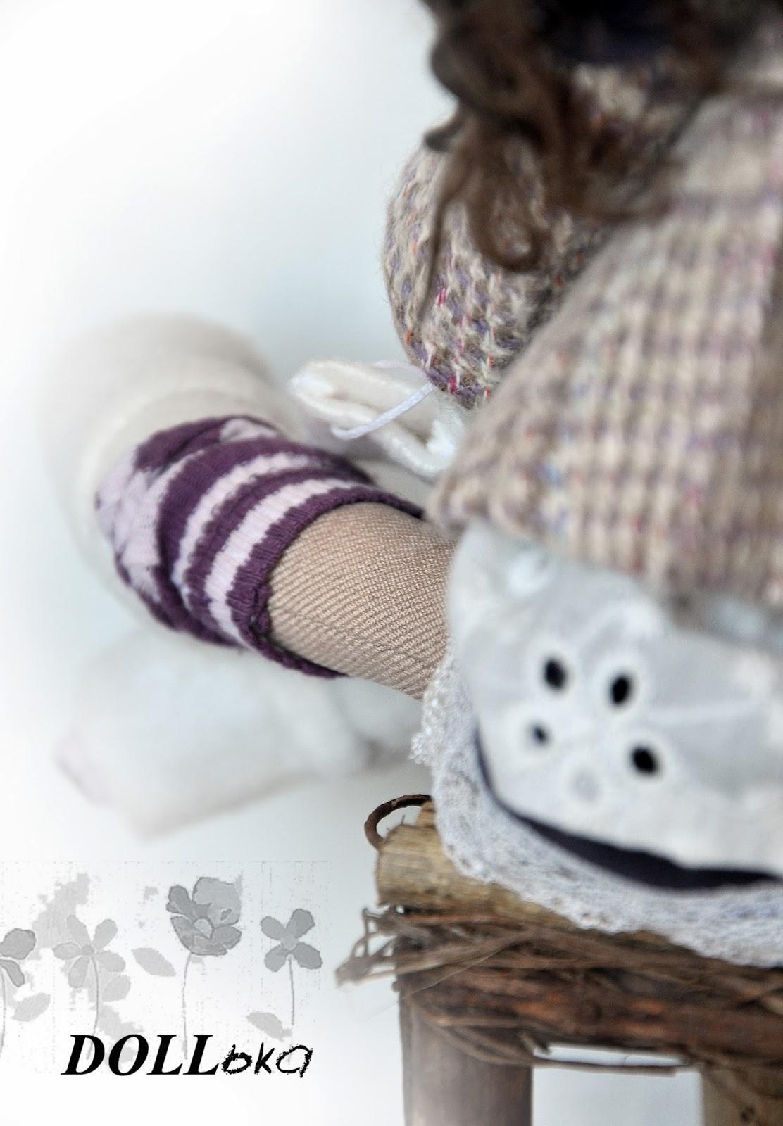 кукла текстильная игрушка ручной работы