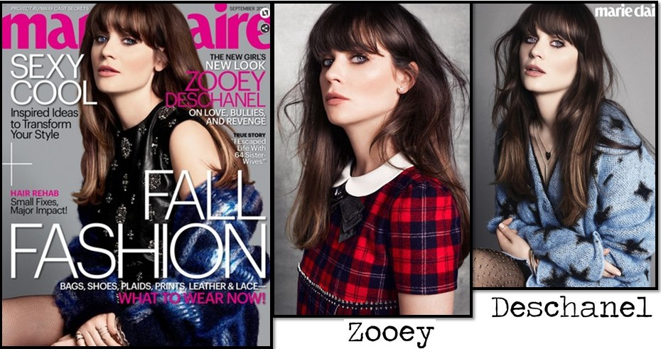 zooey  marie claire