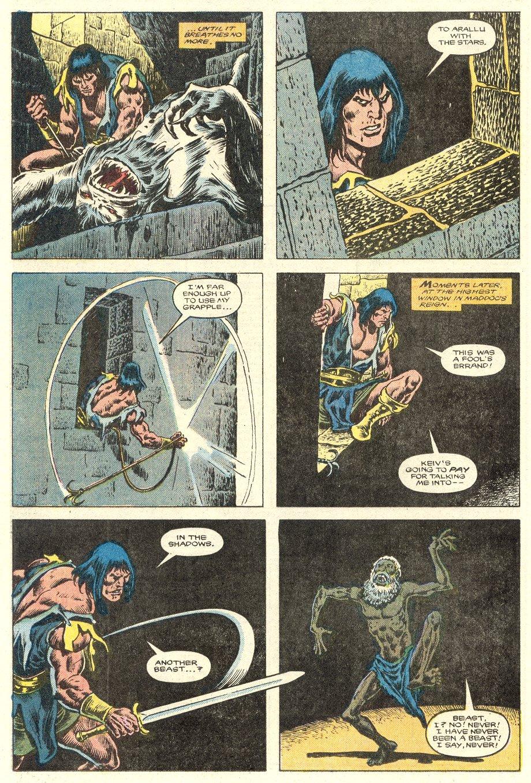 Conan the Barbarian (1970) Issue #181 #193 - English 18