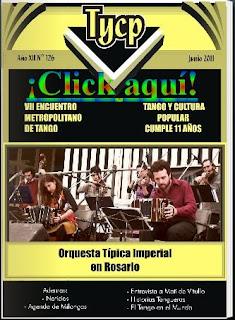 Tango y Cultura Popular N° 126 - Clic aquí