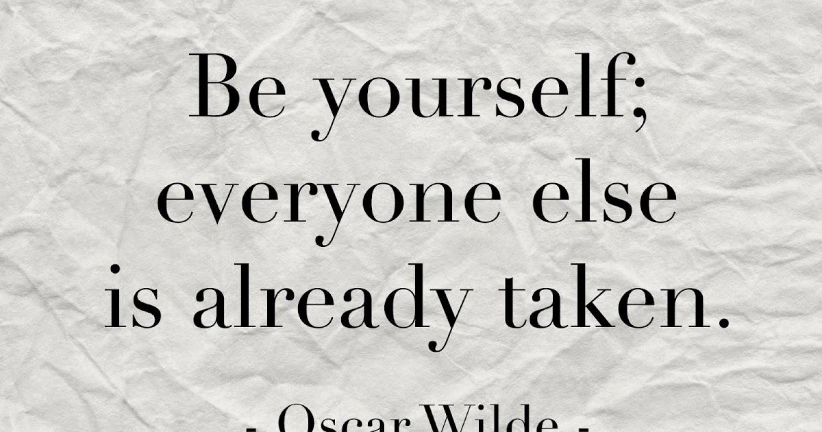 Concertina Press   Stationery and Invitations: Oscar Wilde Be