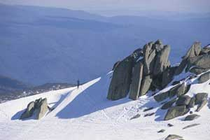 Gunung Salju di Australia Lebih Bersalju Dari Alpen di Swiss