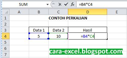 Rumus Excel Perkalian Pembagian