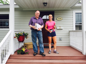 Door to Door with Help of Kari Plumpton