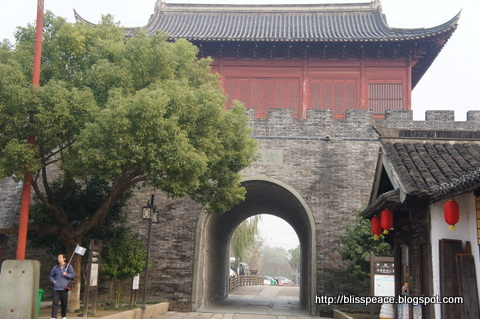 Ancient City of Yanguan in Haining ....