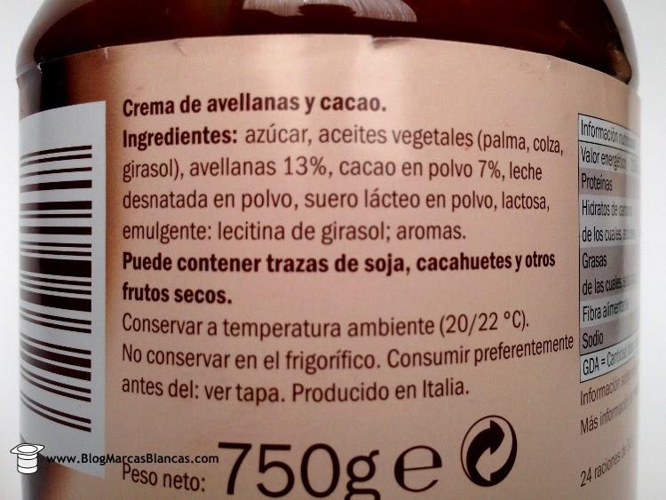 Ingredient Aldi Chocolate Light Drink Uk