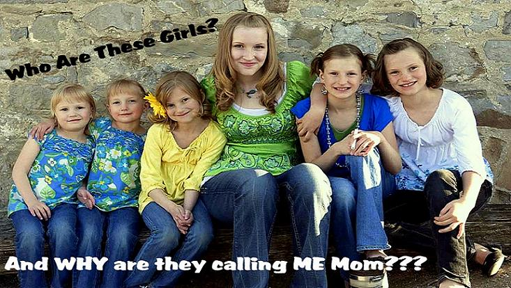 Who are all these girls, and Why are They Calling ME, MOM????
