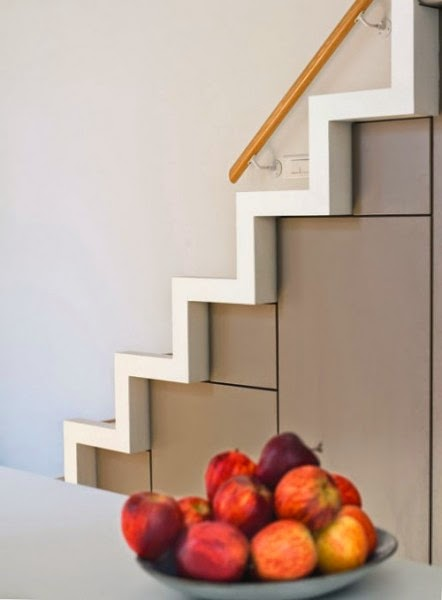 Stairs in The Kitchen, space saver stairs