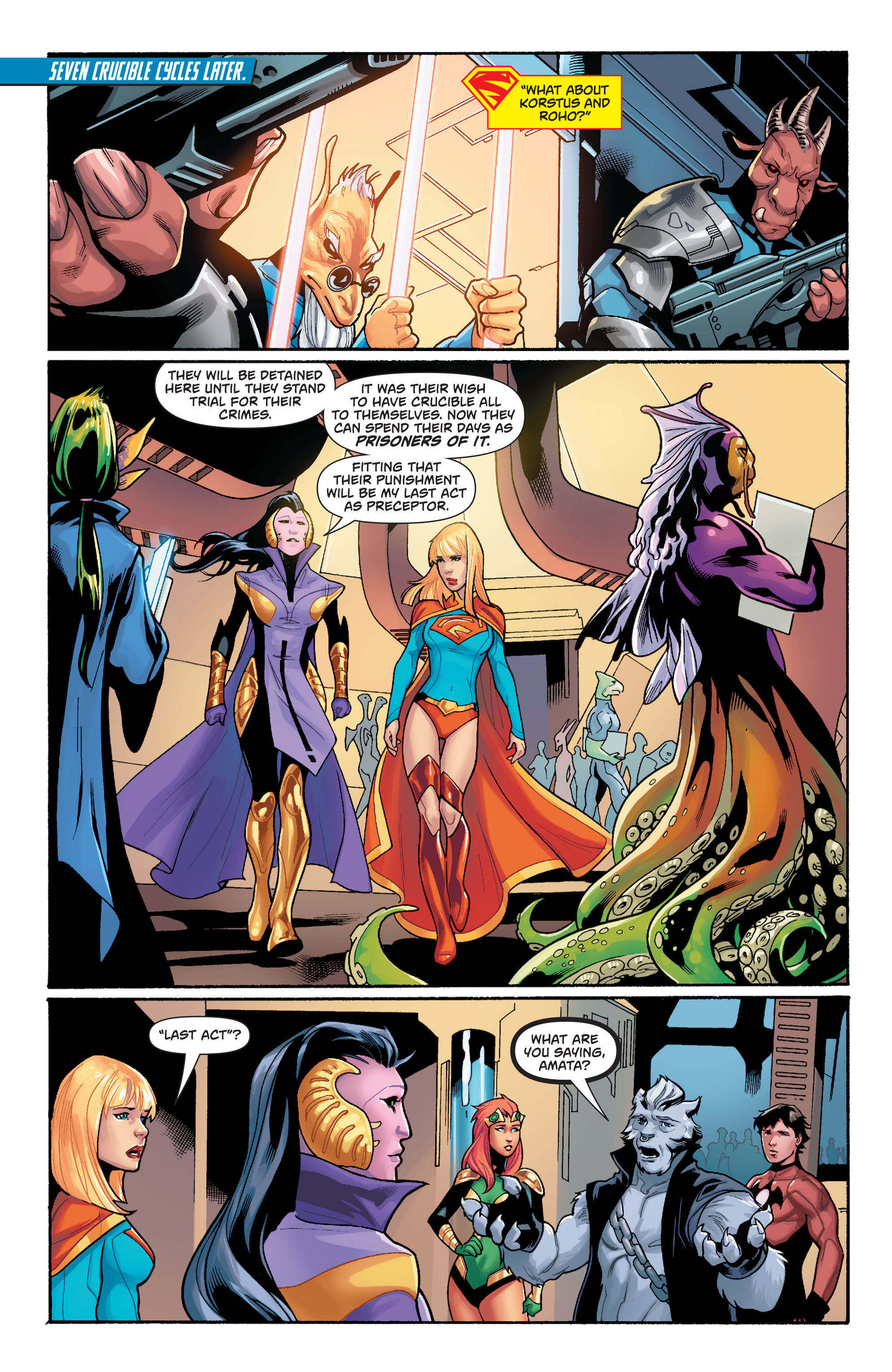 Supergirl (2011) Issue #40 #42 - English 14